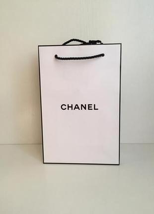 Пакет подарочный chanel