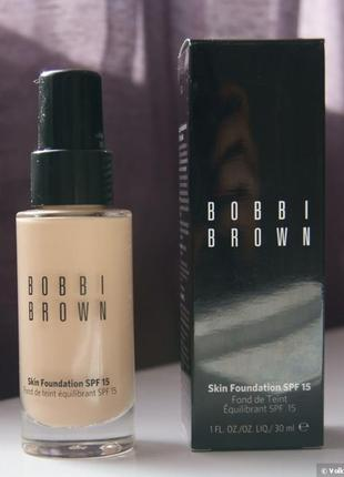 Новый тональный крем bobbi brown