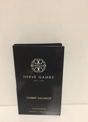 Парфюмерия парфюмерная вода herve gambs 1.7 ml