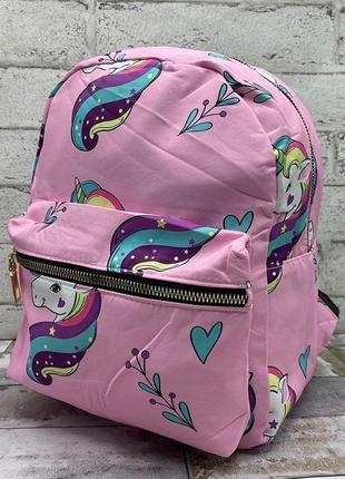 """Рюкзак детский """"пони розовый"""""""