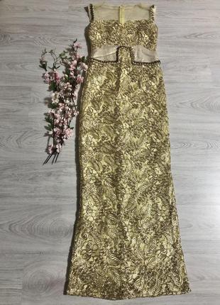 Изящное вечернее платья!