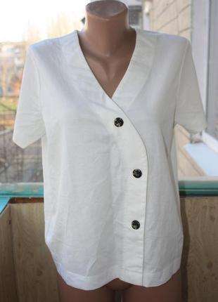 Стильная блуза футболка оригинального кроя