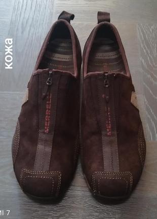 Кожаные кроссовки, туфли, merrell.