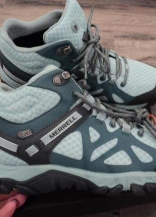 Кпроссовки merrell outright edge mid hiking boots р 7,5  usa  оригинал