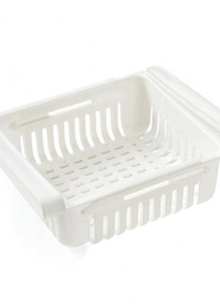 Контейнер органайзер для холодильника подвесной раздвижной