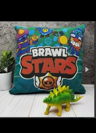 Подушка brawl stars светится в темноте