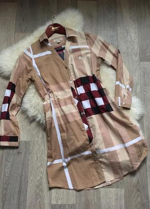 Платье-рубашка 🔥бренда burberry