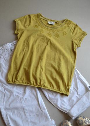 Акция на летние вещи - предложи свою цену!!! футболка c вышивкой  р.l  next