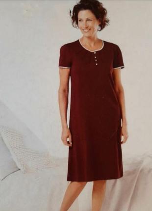Нежное домашнее платье, ночная сорочка esmara германия