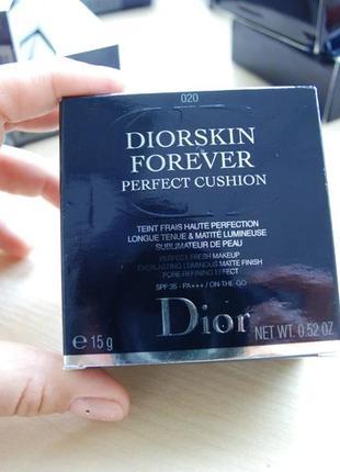 Кушон diorskin forever cushion