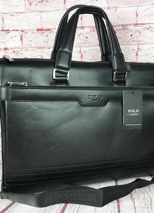 Деловой мужской портфель. сумка для документов формата а4. кс61