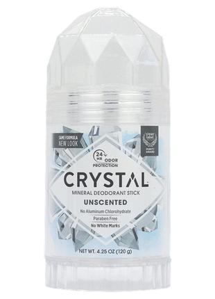 Минеральный дезодорант-карандаш, crystal body deodorant, 120 г