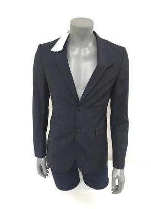 Пиджак faconnable blazer blue wool mohair