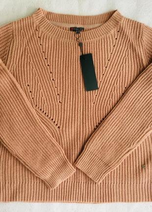 Пуловер пудрового цвета streetone