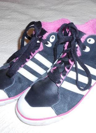 Спортивные кеды adidas на девочку 30 размер