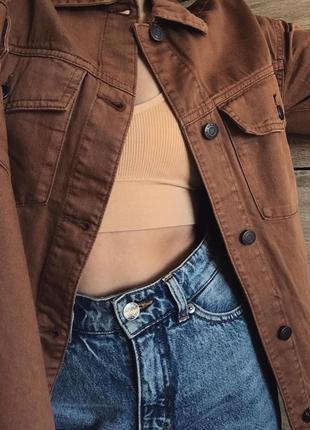 Рубашка-куртка sinsay