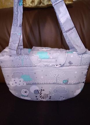 Сумка на коляску, сумка для мамочек