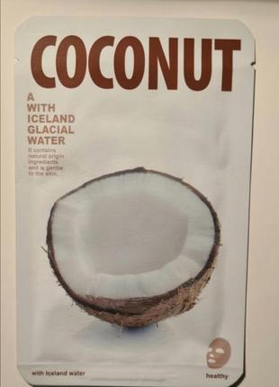 Маска с кокосом
