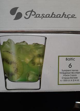 Стаканы 6шт,набір склянок
