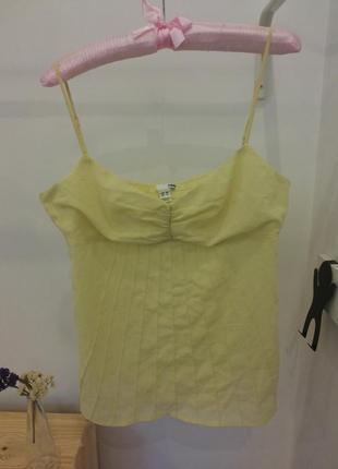 Легкая шифоновая блуза h&m