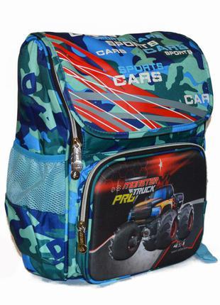 Школьный рюкзак для мальчика сортопедической спинкой