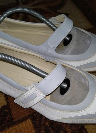 Кожаные туфли, мокасины 26 см