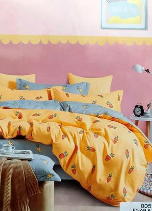 Сатиновое постельное бельё из 100% хлопка, детское полуторное постельное 150×200 сатин
