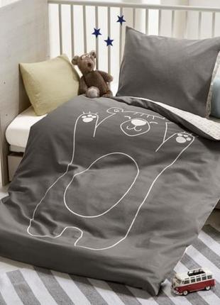 Комплект детского постельного белья lupilu pure collection