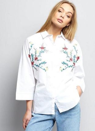 Жіноча сорочка з вишивкою