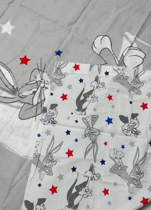 Комплект детского постельного белья looney tunes