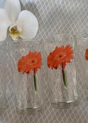 Набор стаканов, набір стаканів, 4 стакана.