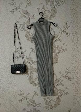 Платье фктляр по фигуре (миди)
