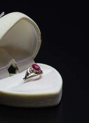 Винтажное серебрянное кольцо