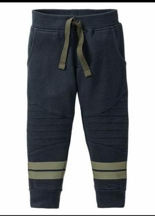 Тёплые спортивные штаны джоггери на флисе 98-104 lupilu
