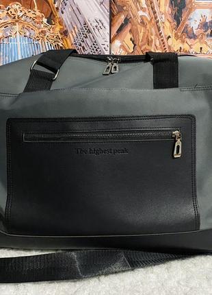 Спортивная сумка дорожная сумка большая чёрная