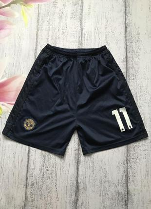 Крутые шорты для спорта manchester united размер 8-9лет