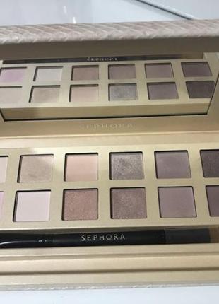 Тени sephora palette - delicate nude eyeshadow