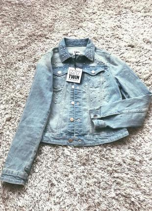 Джинсова куртка twin-set
