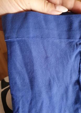 Колготки синие