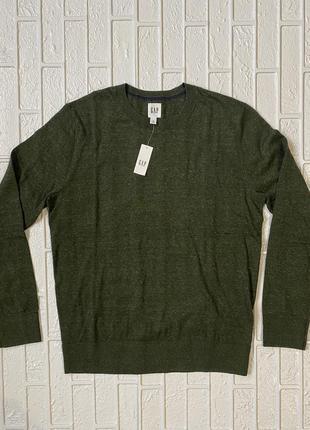 Мужской свитер джемпер gap
