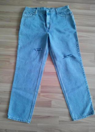 Новые джинсы-бойфренды levis