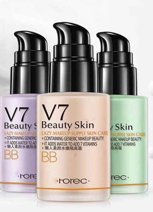 Нереальная база-лосьон под макияж v7 beauty skin