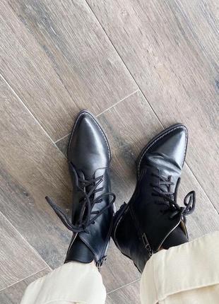 Ботинки на шнурках,alas