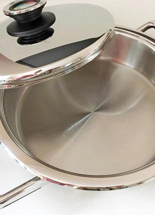 Сковорода zepter tf 027-24 сковородка цептер сотейник кастрюля новая