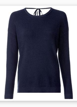 Красивый женский свитер кофта джемпер пуловер с завязкой на спине esmara
