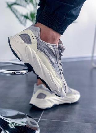 Adidas yeezy 700 v2 static 🍏 стильные женские мужские кроссовки адидас рефлективные