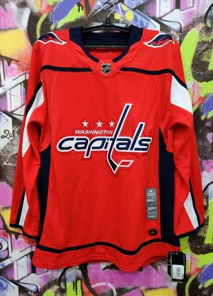 Washington capitals nhl hockey adidas вашингтон кэпиталз