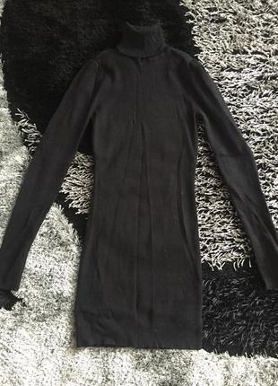 Платье зимнее в обтяжку теплое актуально