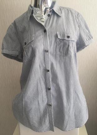 Рубашка в полоску esprit