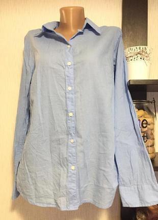 Рубашка с рукавом голубая bpc